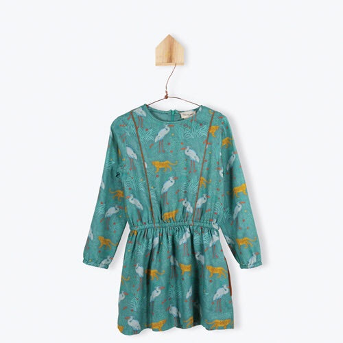 Dress Printed Fantastic Animals