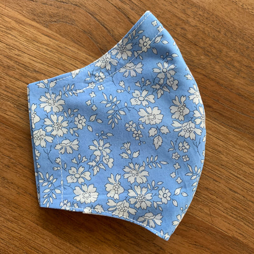 Handmade Reusable Face Mask (Liberty) - Capel Blue