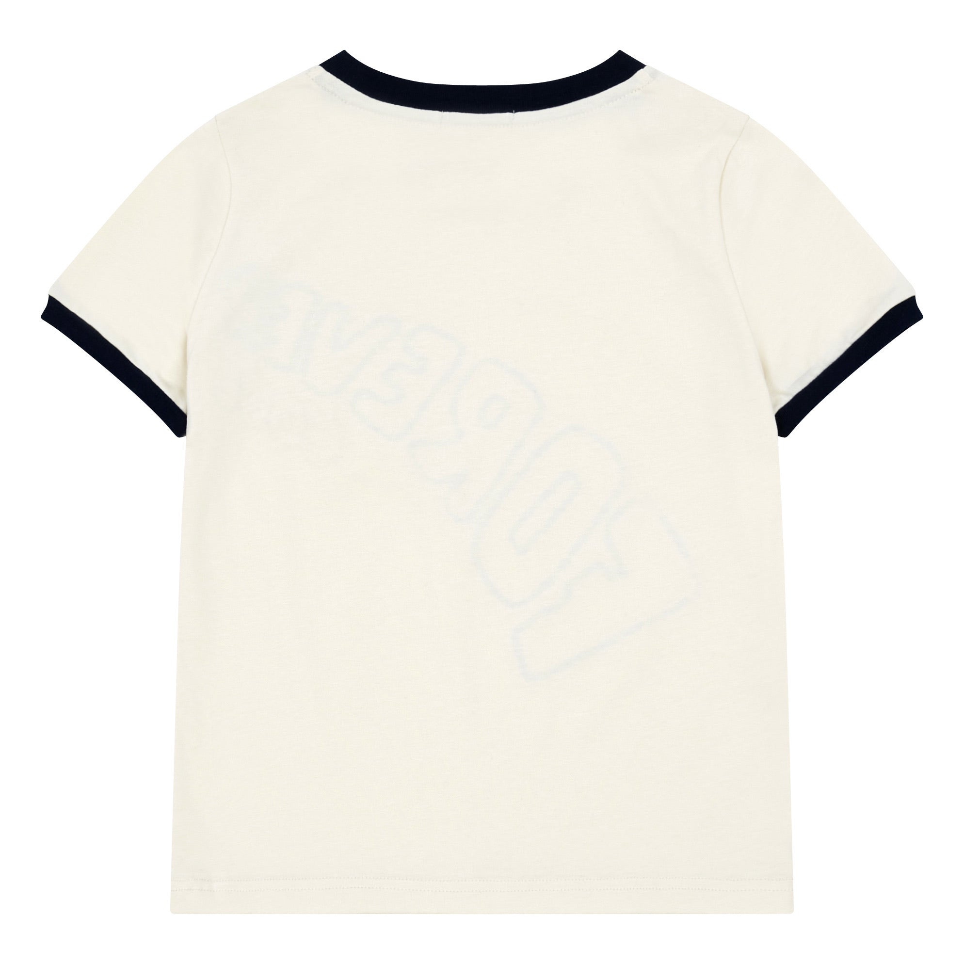 Leader Chips Tee Off-White