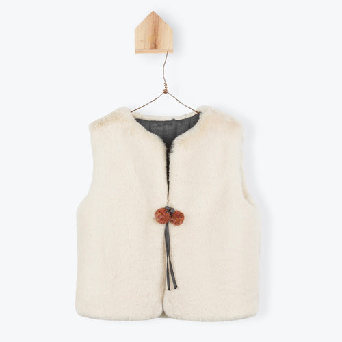 Reversible Furry Gilet