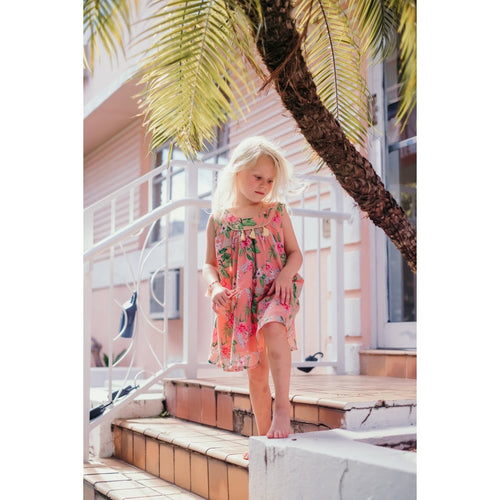 Dress Calkini Sienna Flamingo