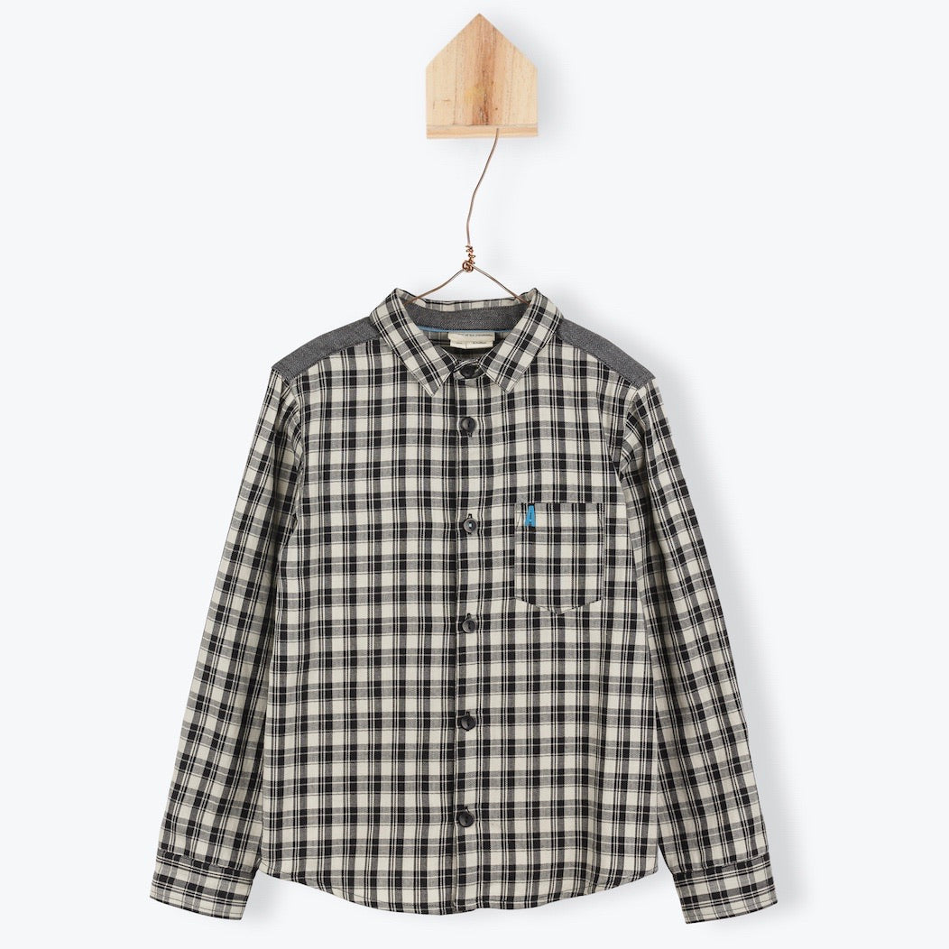 Shirt Plaid Antracite