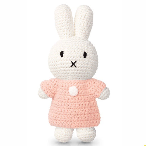 Miffy handmade and her pastel pink dress