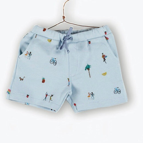Printed Sweat Shorts