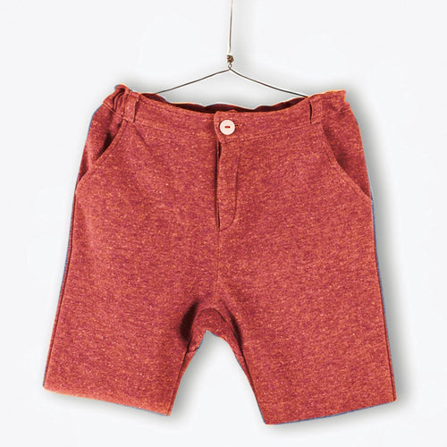 Bermuda Shorts Tomato Red
