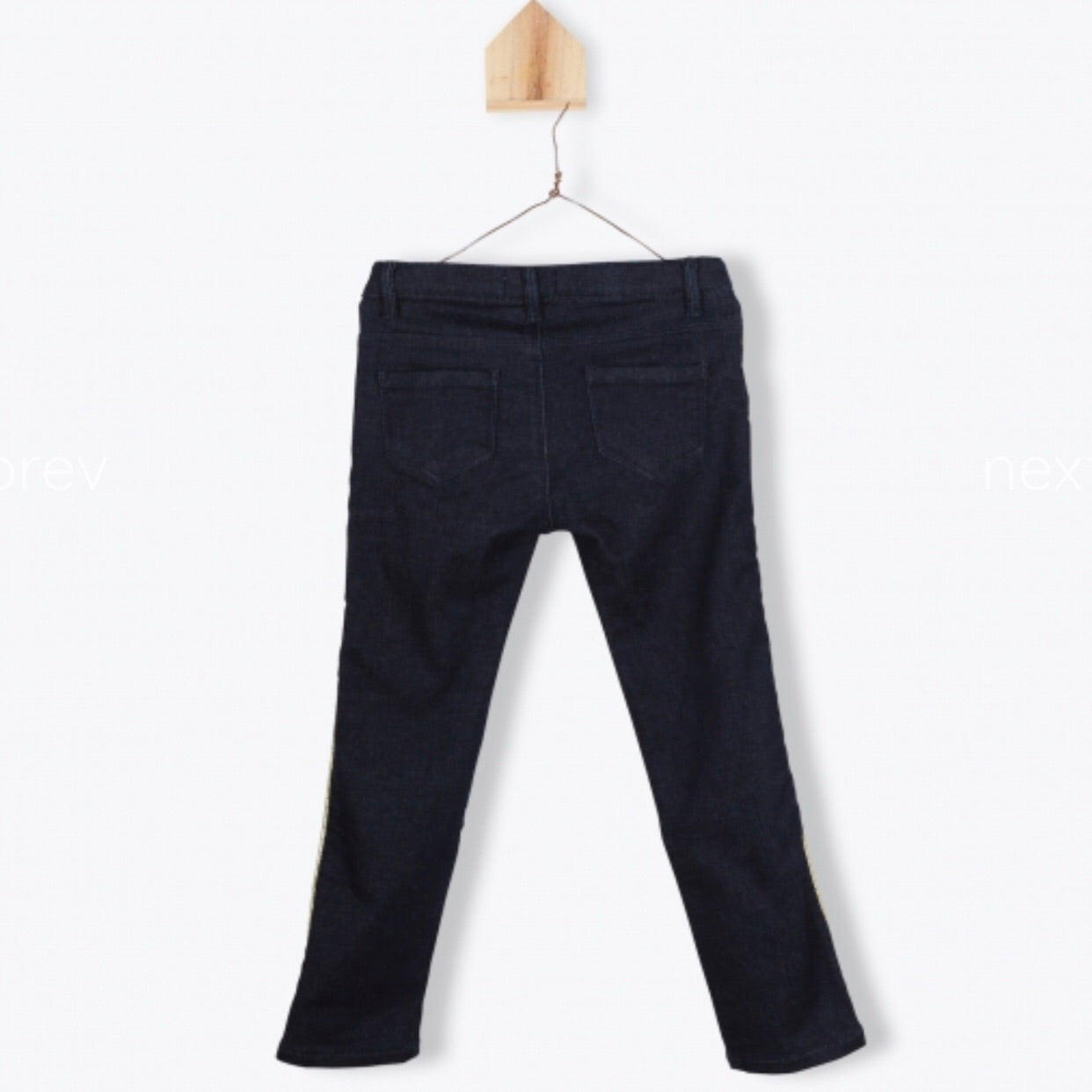 Girls Stretch Denim Pants