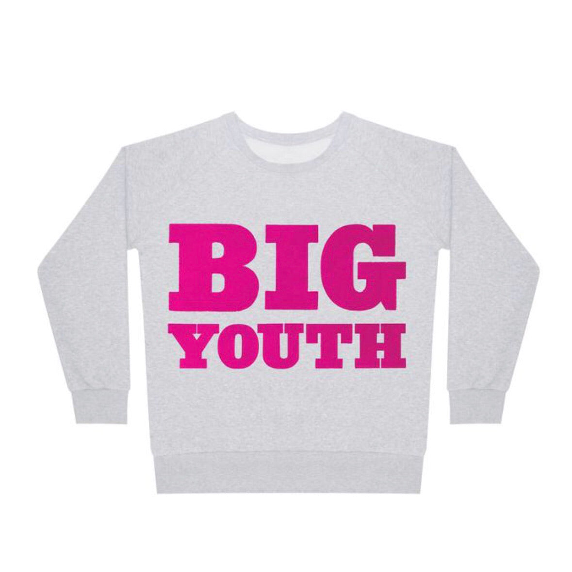 Sweat Big Youth Pink Lt Marl