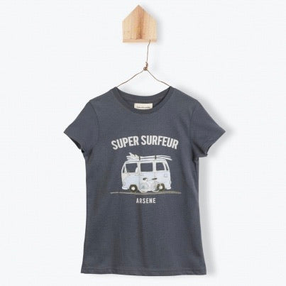 Super Surfer Tee Antracite