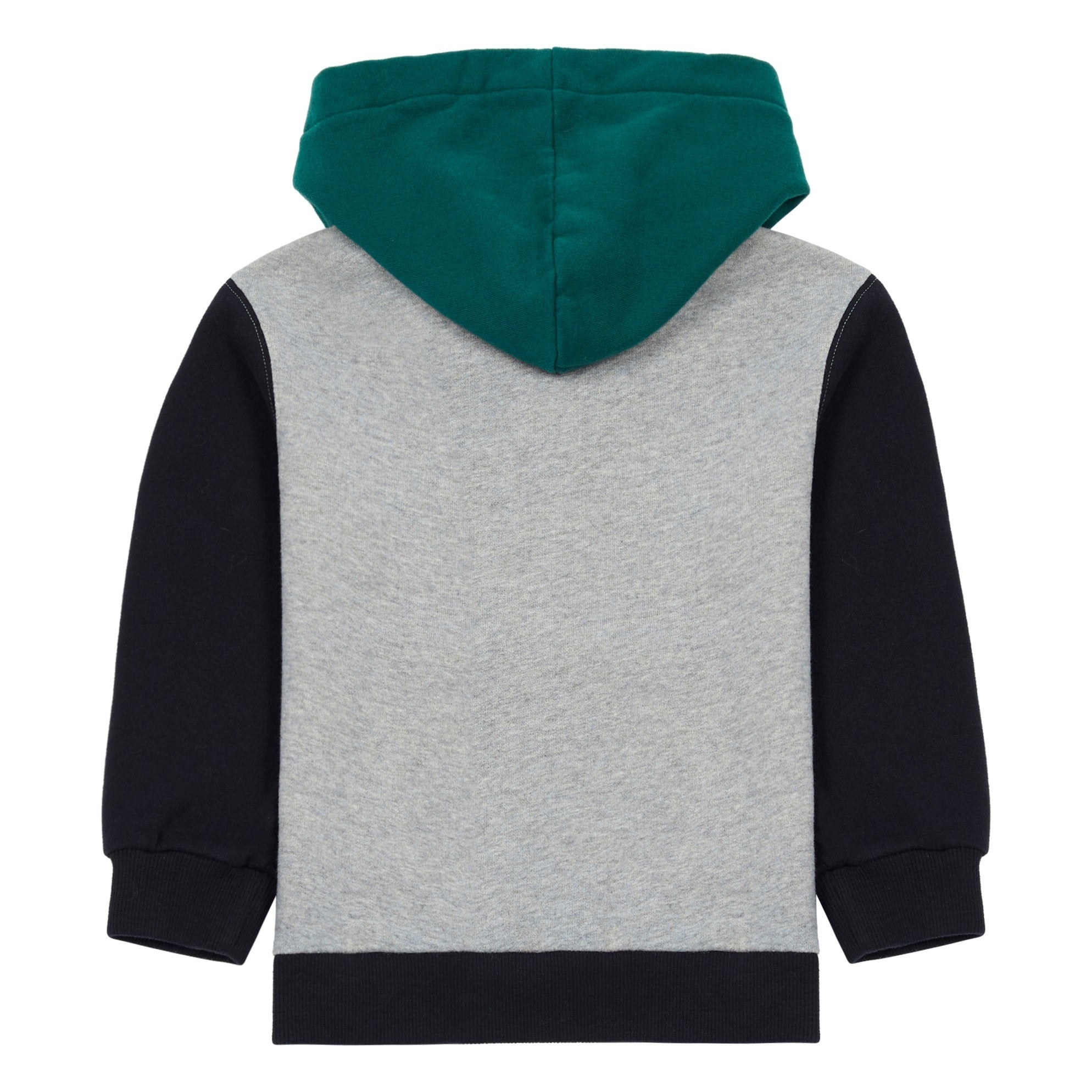 Sweat Hooded Colour Block