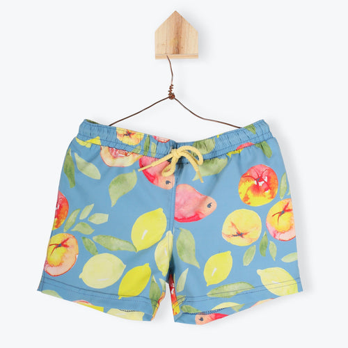 Printed Swim Shorts Fruits