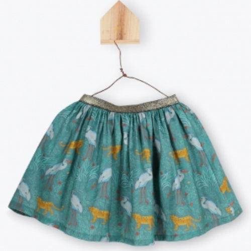Skirt Printed Fantastic Animals