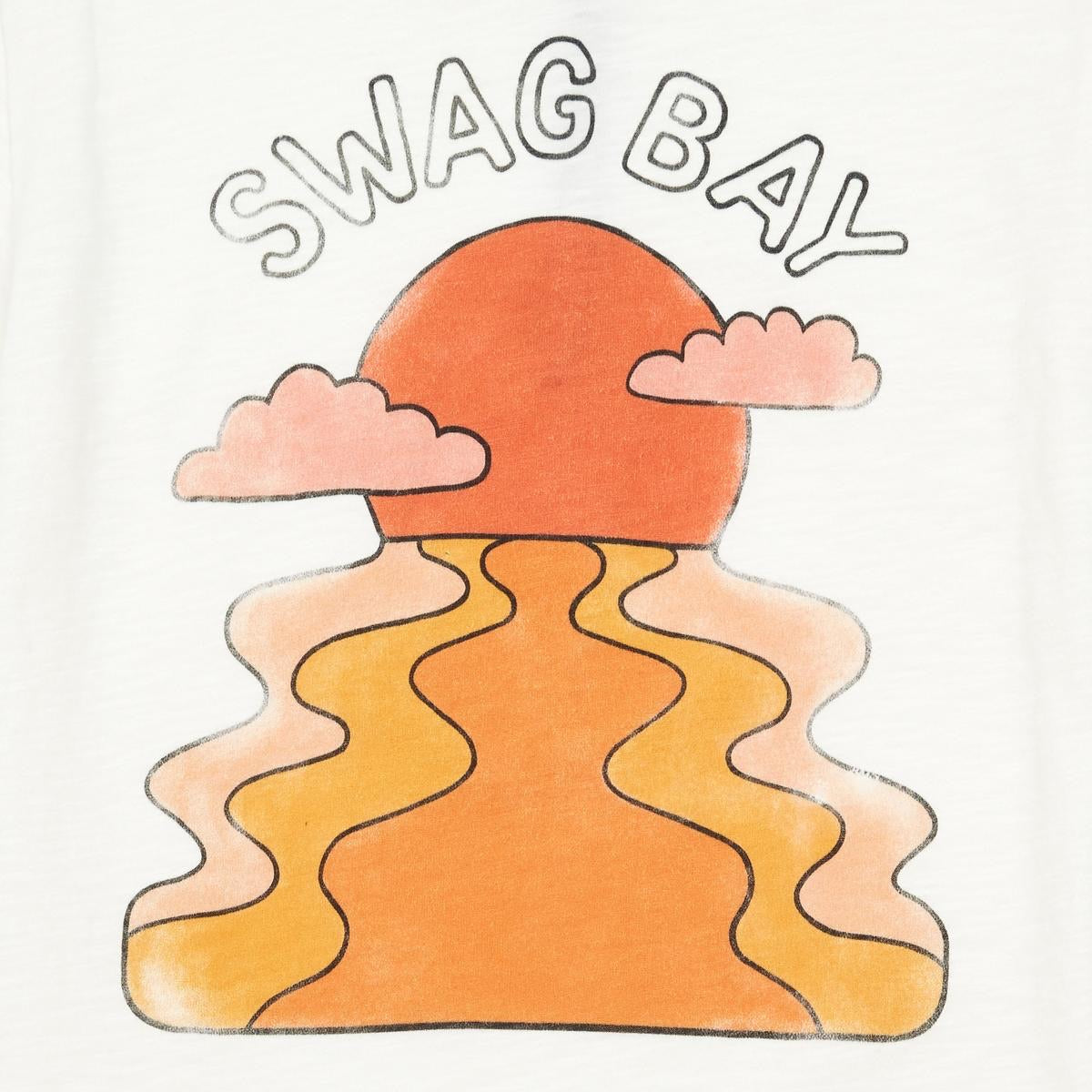 Swag Bay Tee White