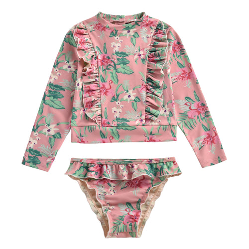 UV-Protection Swimsuit Sienna Flamingo