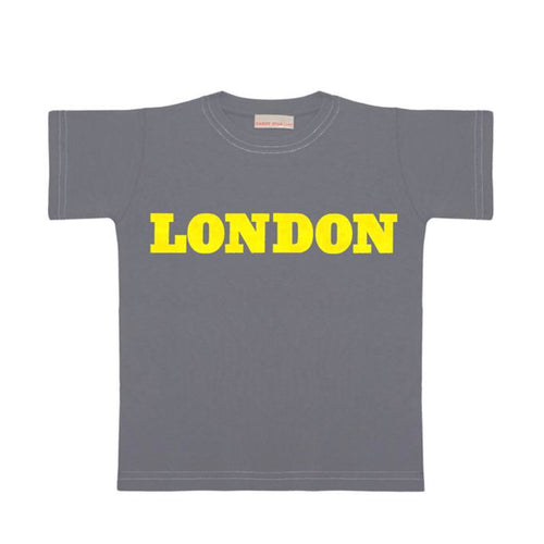 Tee London Yellow