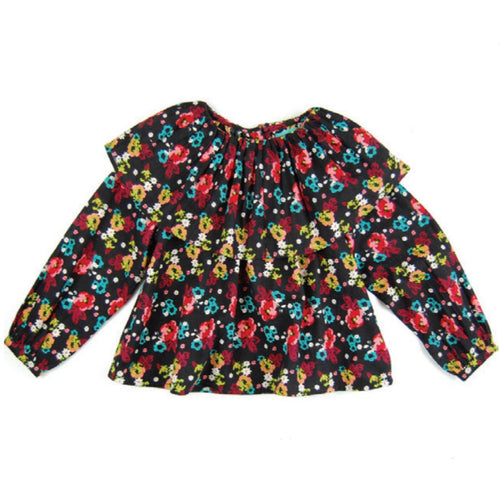 Blouse Anna Black Forest