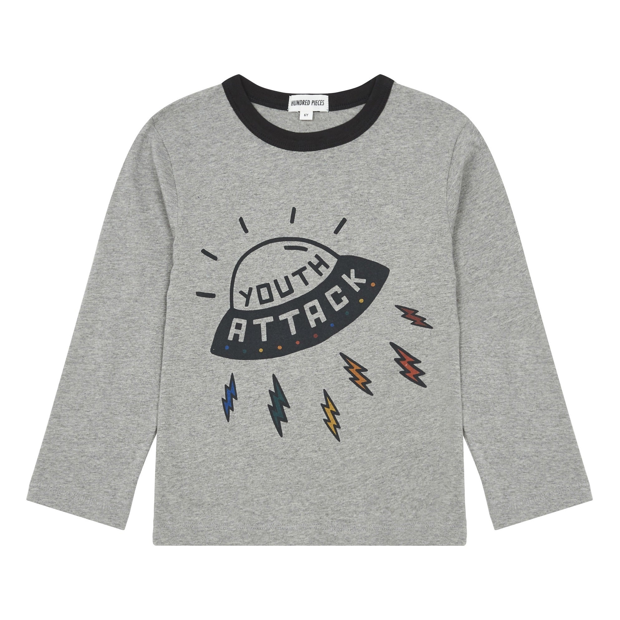 Tee Youth Attack Grey