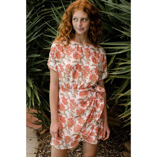 W's Dress Cabi Bohemian Flowers