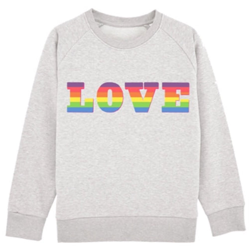 Rainbow LOVE Sweat