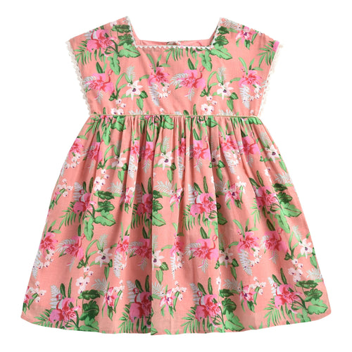 Dress Tapalpa Sienna Flamingo