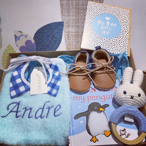Oohlala Personalised Hamper - Baby Boy 1