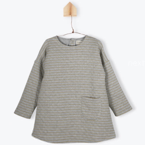 Quilted Fleeced Sweat Dress