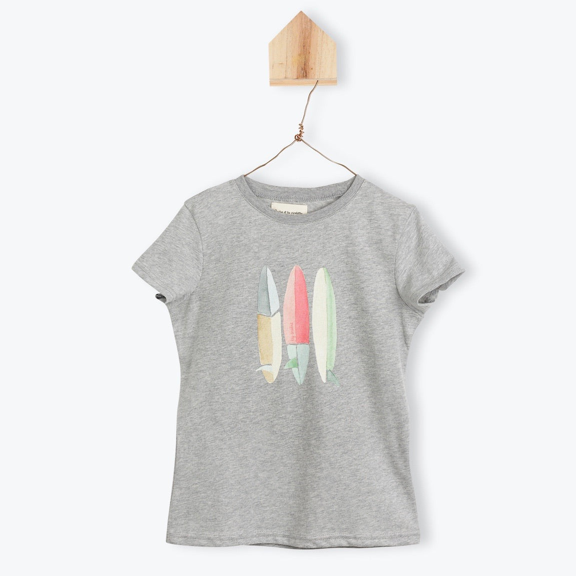 Surf Boards Grey Tee