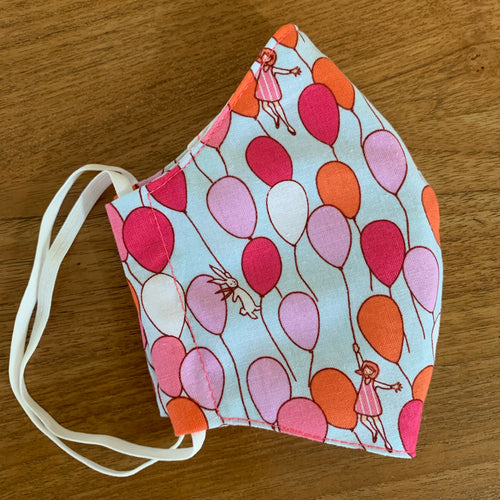 Handmade Reusable Face Mask - Balloons