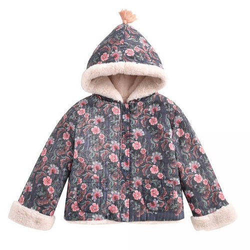Jacket Connie Storm Flowers