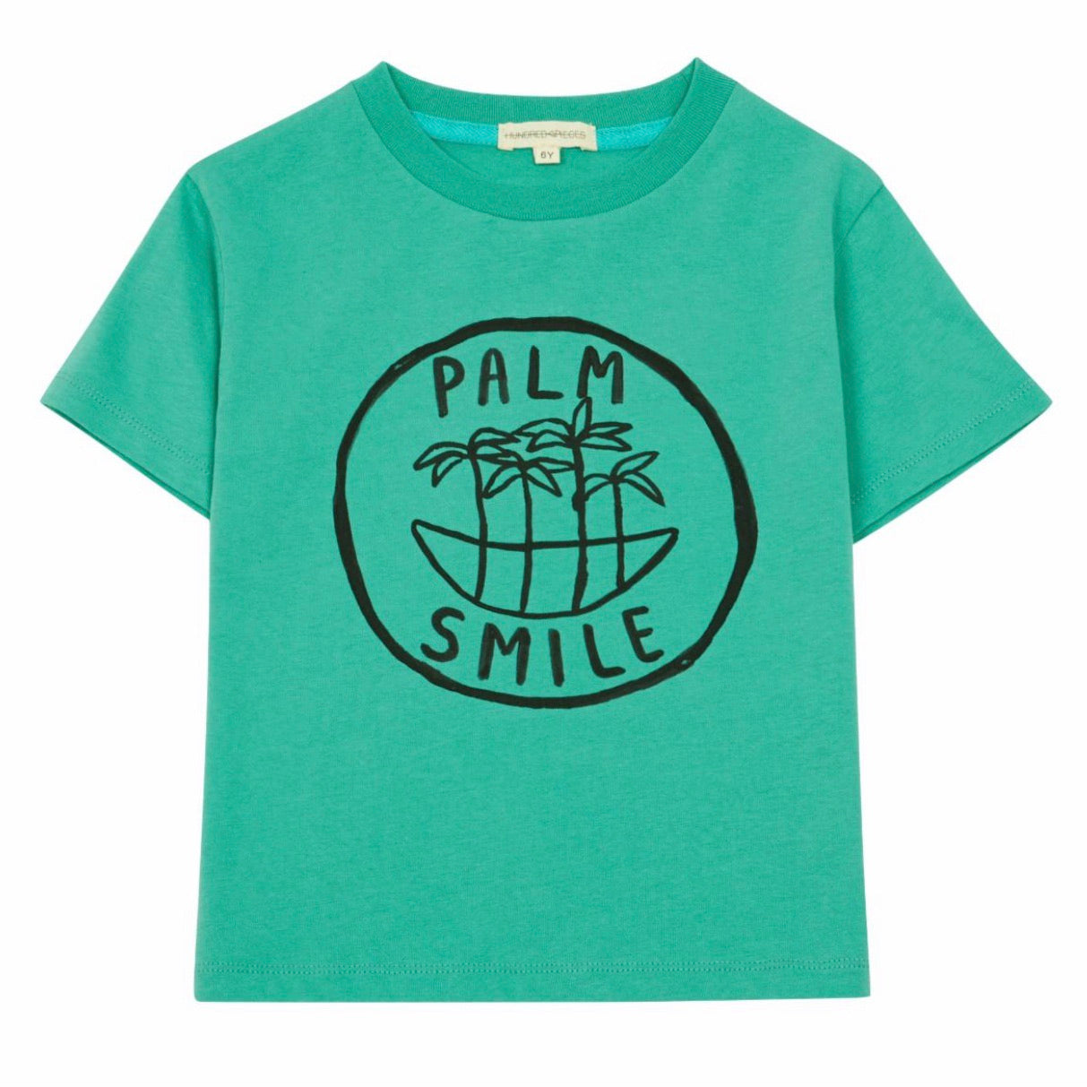 Palm Smile Tee Green