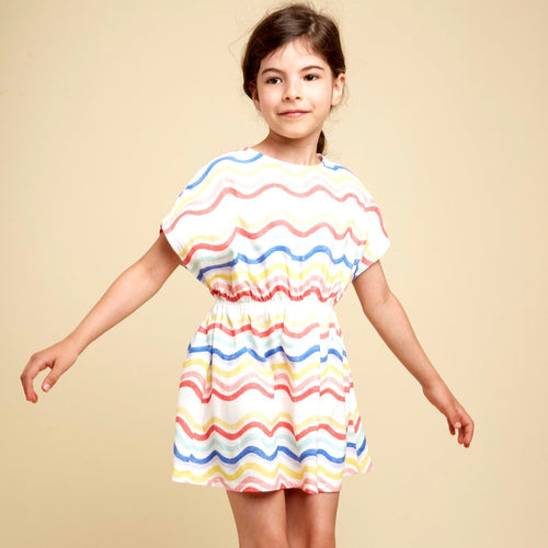 Waves Dress Multicoloured