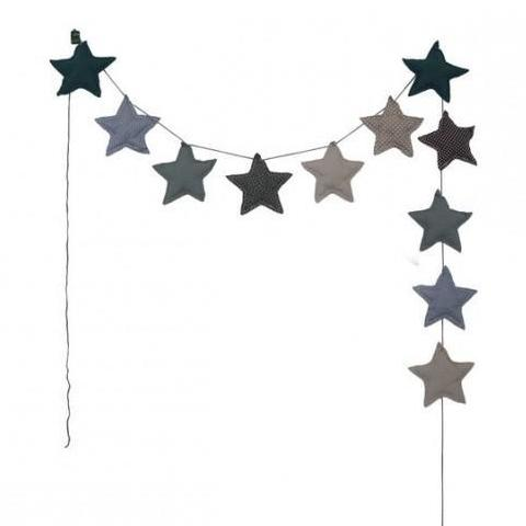 Mini Stars Garland - Blue