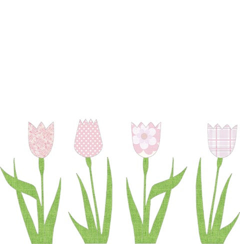 Wallpaper Tulip - Pink