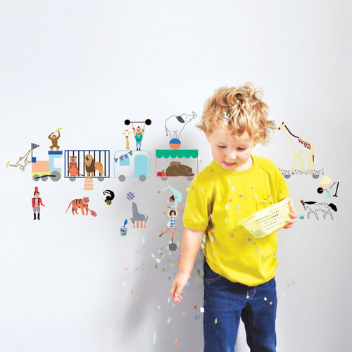 Wall Sticker - The Circus Train