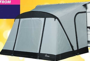 2019 Starcamp Quick'N Easy Air 225 Inflatable Caravan Porch Awning