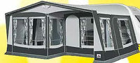 2019 Dorema Royal 350 De Luxe Size 17 All Season Awning with 28mm frame & Panel