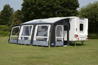 2019 Kampa Rally Air Pro 390 Plus RIGHT Inflatable Caravan Porch Awning