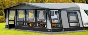2019 Inaca Stela 350 Caravan Awning Size 1150cm, Steel Frame