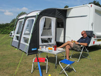 2020 Kampa Rally Pro 260 Lightweight Caravan Porch Awning