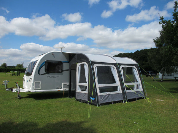 2020 Kampa Rally Pro 330 Lightweight Caravan Porch Awning