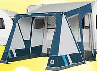 2020 Dorema Mistral 300 All Season Touring Caravan Porch Awning Blue