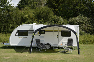 2020 Kampa Sunshine Air Pro 400 Inflatable Caravan Sun Canopy