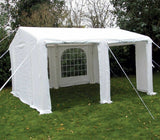 Sunncamp Inflatable Extendable Lounge Party Tent 4m x 4m with window covers