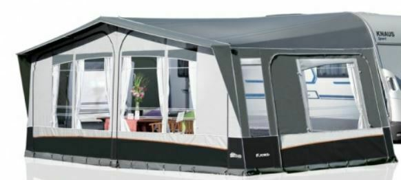 2019 Inaca Fjord 300 Silver Caravan Awning Size 1000cm, Steel Frame