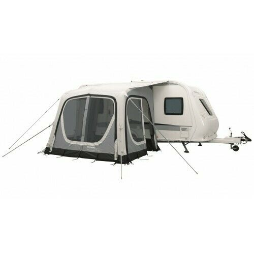Outwell Pebble 300a Inflatable Caravan Awning, Inner Roof & Carpet
