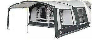 2019 Dorema Octavia Front Awning Canopy Size 17 WITH 1 SIDE PANEL, steel frame