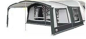 2019 Dorema Octavia Front Awning Canopy Size 9 WITH 1 SIDE PANEL, steel frame