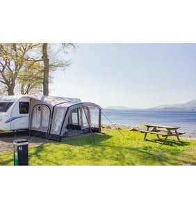 Vango Sonoma 400 Inflatable Caravan Awning with Carpet 2017 Clearance