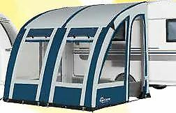 2019 Starcamp Magnum Air 390 Weathertex Touring Inflatable Caravan Awning Grey