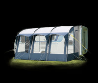 Royal Wessex 390 Lightweight Touring Caravan Porch Awning Blue CLEARANCE