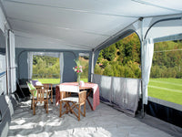 2019 Inaca Fjord 300 Silver Caravan Awning Size 1175cm, Steel Frame